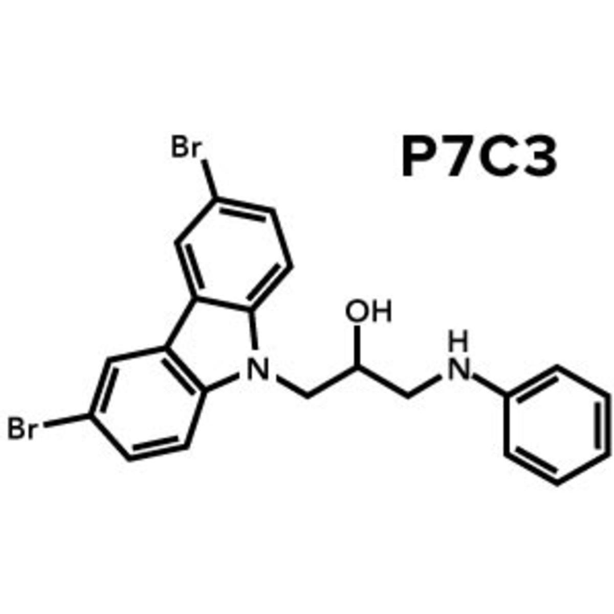 P7C3 compound chemical structure