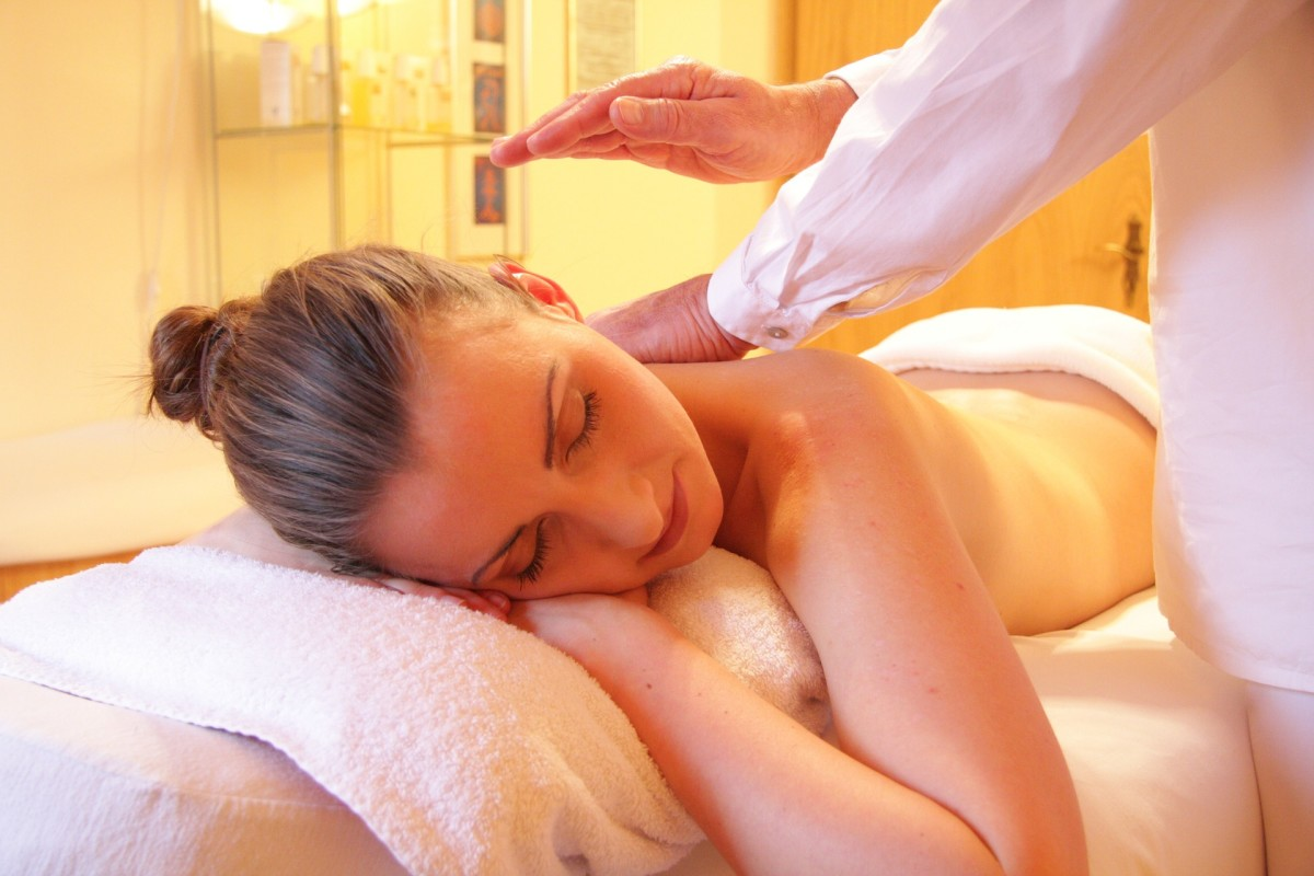A massage is a great way to relax and alleviate the pain in your back.