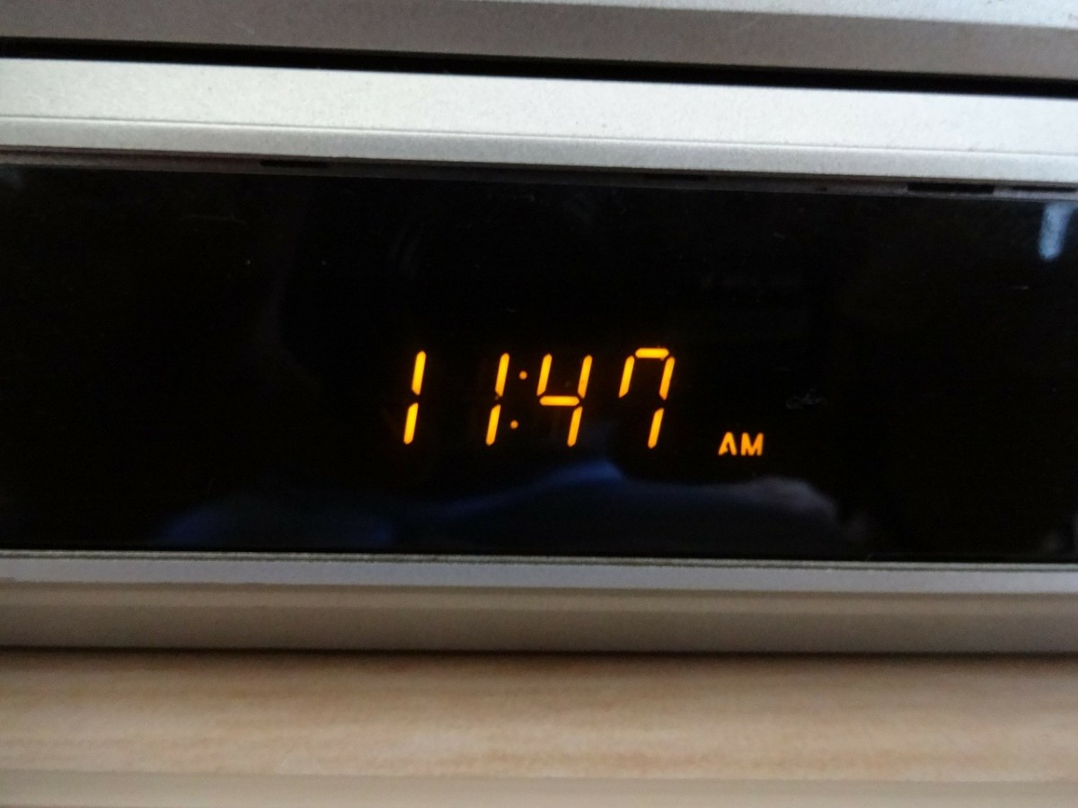 Alarm clocks can lead to anxious thoughts. The light from digital clocks is worse. If you need an alarm to wake you, put it under the bed, throw a scarf over it, or in a cupboard; somewhere you can't see it but will still hear it in the morning!