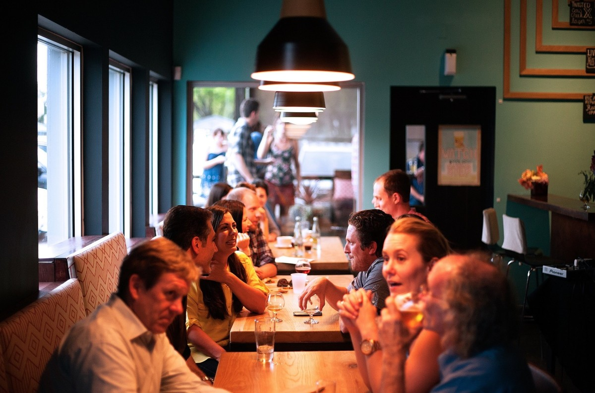 Eating out in the evening may be an important part of your social life, but if you want to get a good night's sleep, make it the exception rather than the rule