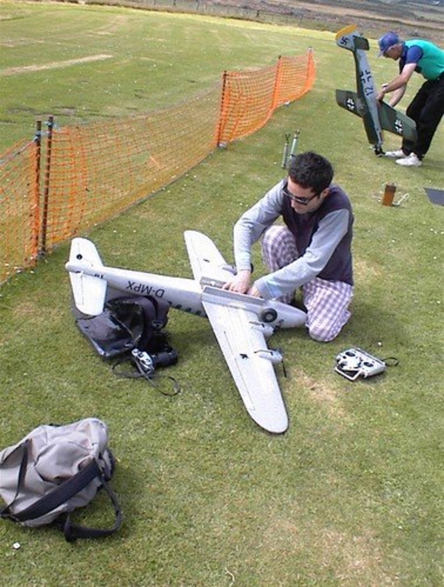You don't have to deep dive into the world of expensive R/C plane replicas to help escape your substance. If this guy's focus is a bit much for you, there are a plethora of other options.