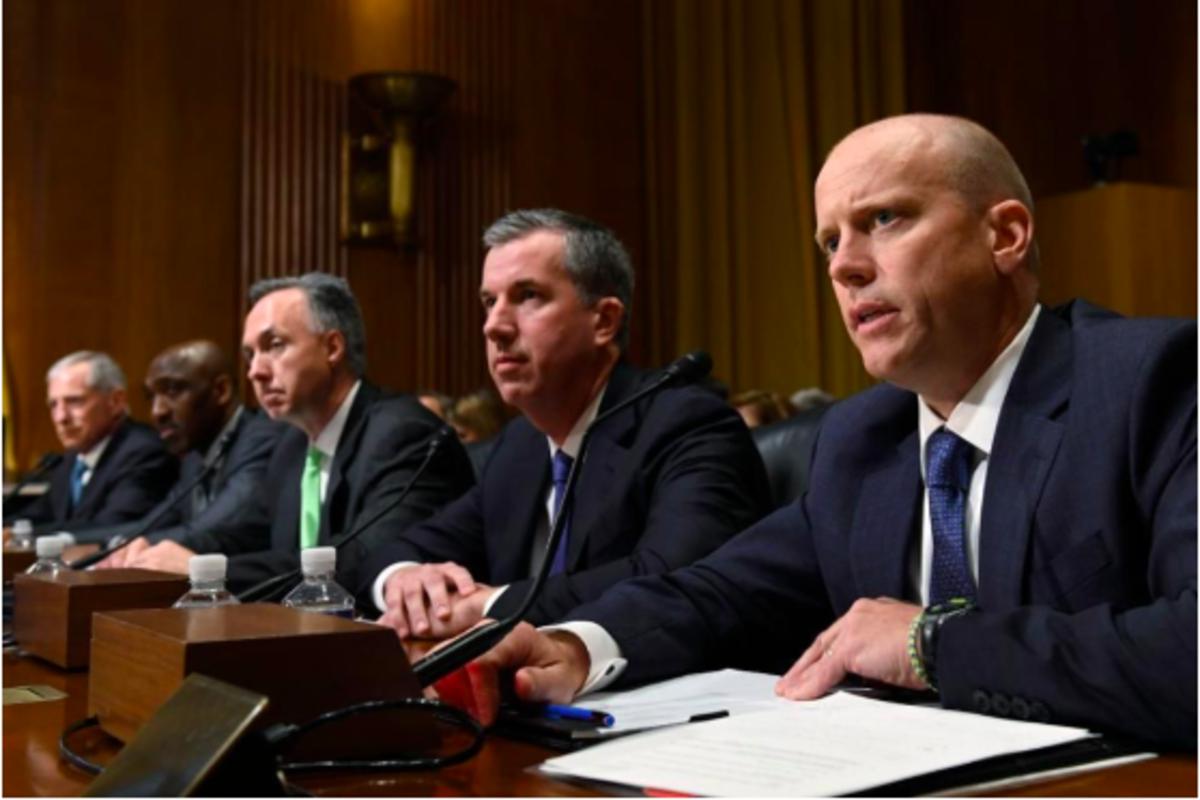 Pharmacy Benefit Manager Executives during Senate Hearing