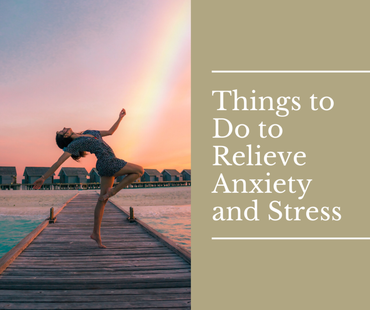 7 Easy Things to Do to Relieve Anxiety and Stress