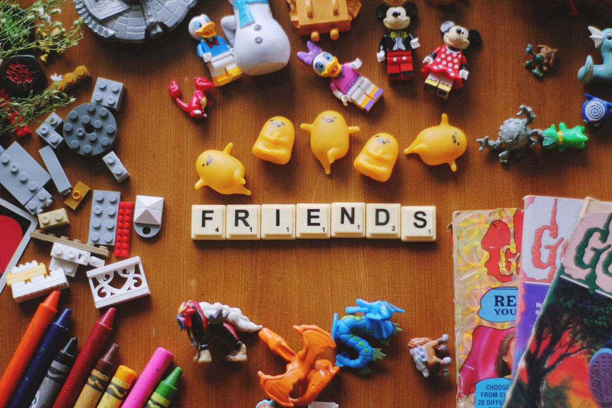 Having friends over to play games is a great way to reduce stress.