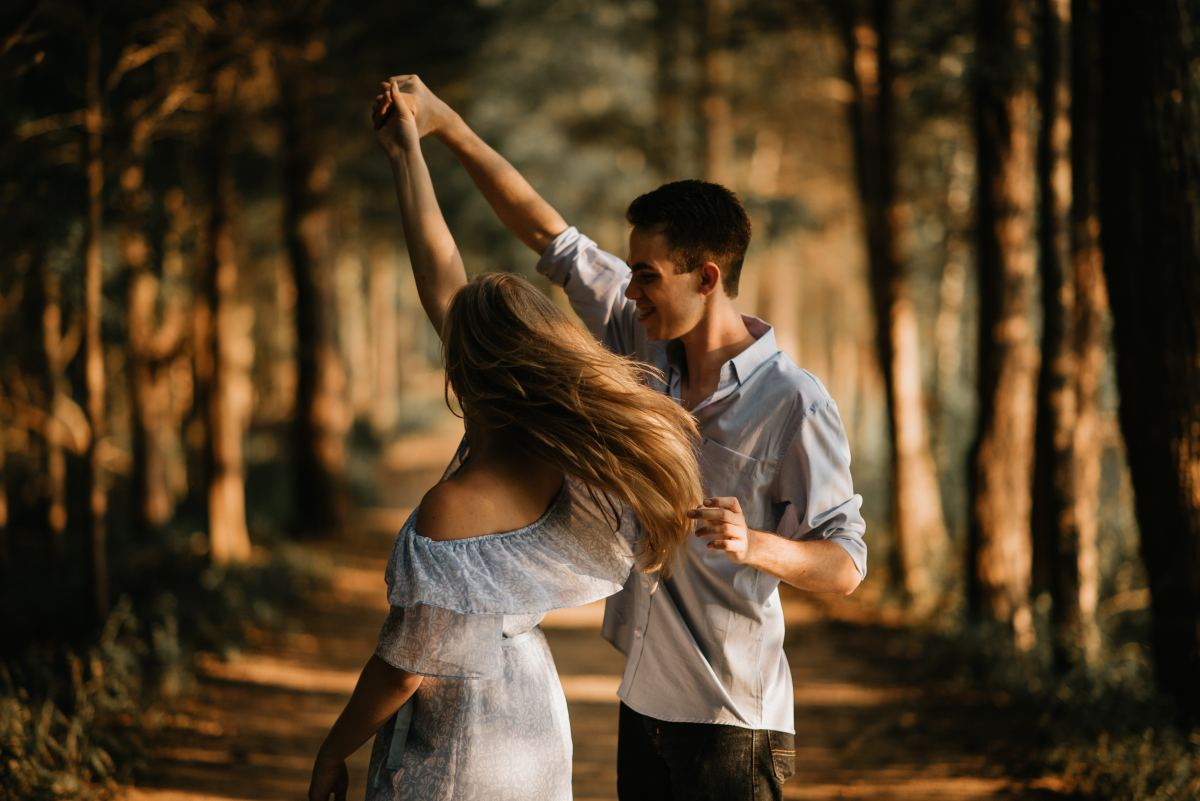 Dancing is a great way to reduce stress.