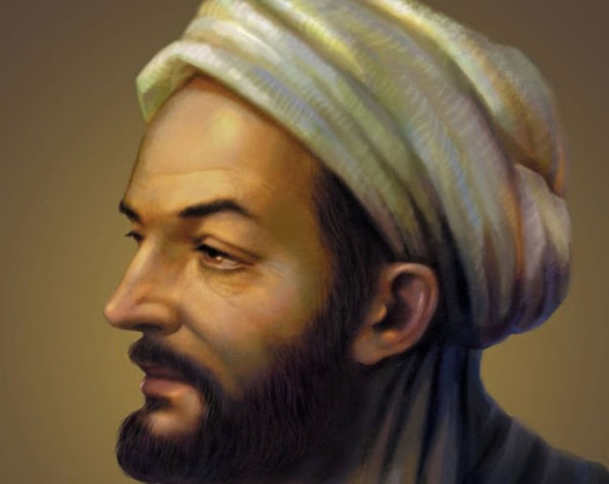 Portrait of Ibn Sina or Avicenna (980–1037 CE).