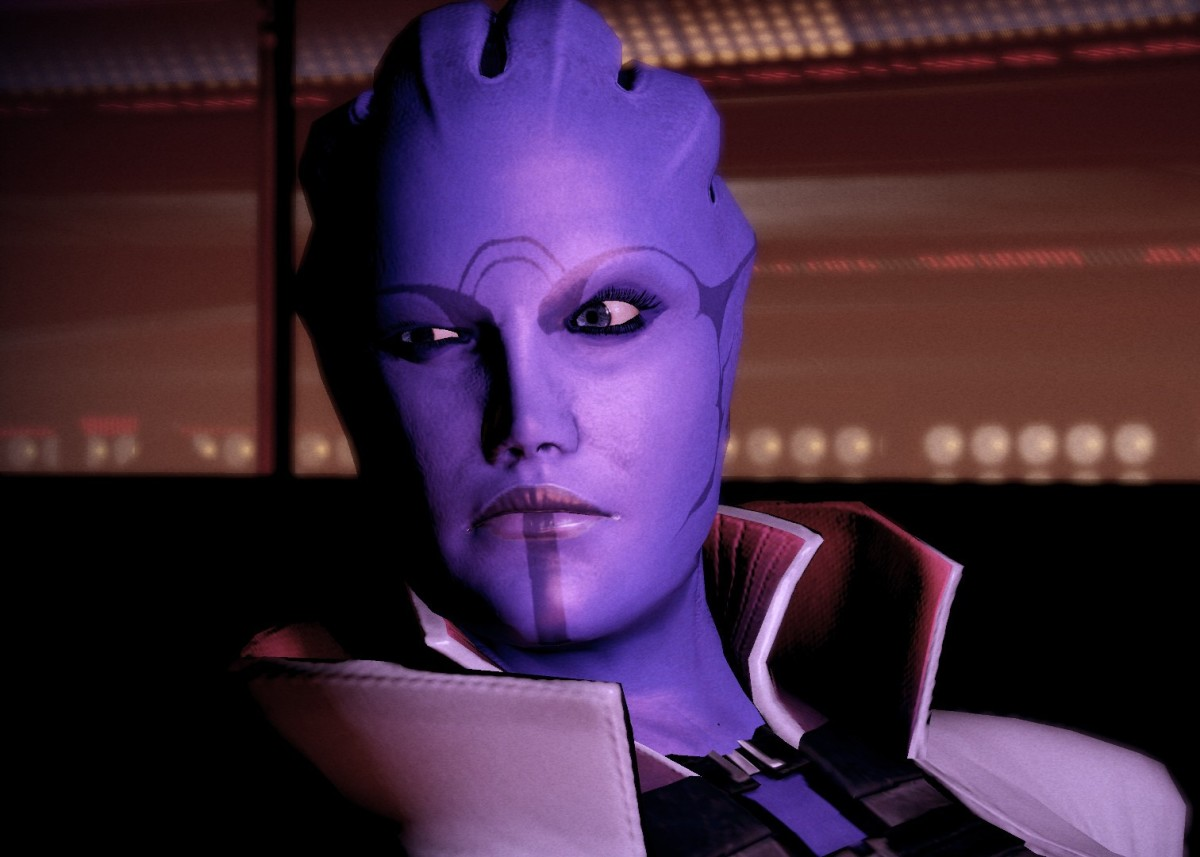 """Mass Effect"" Character Analysis: Aria T'Loak"