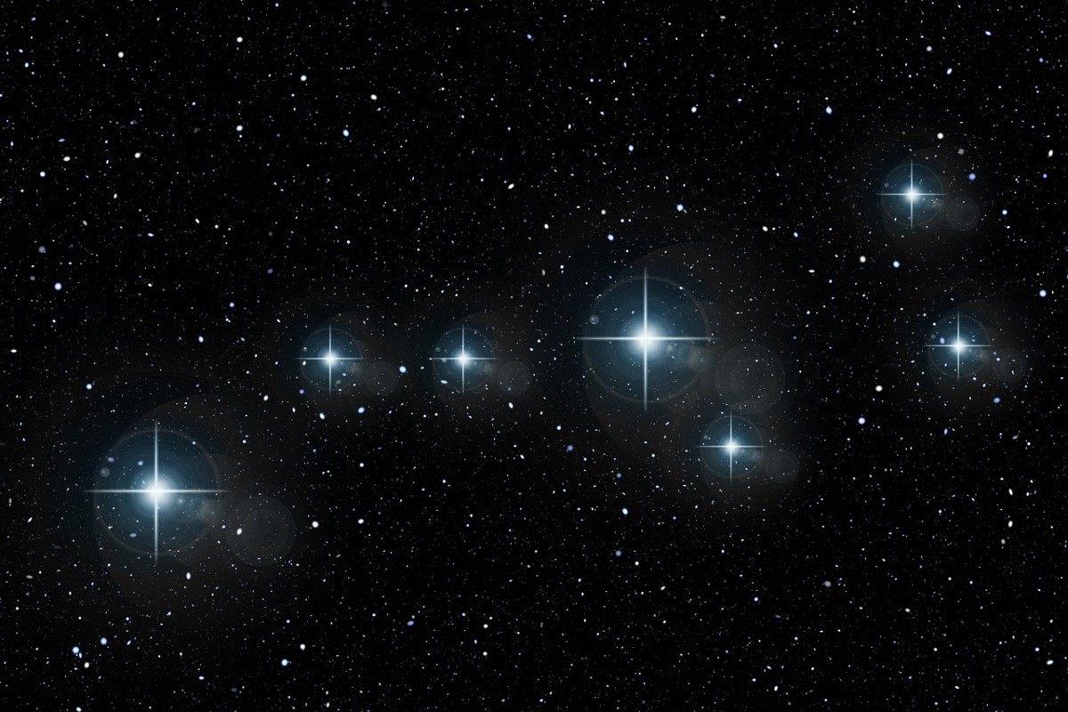 Constellations in the sky are star patterns that historically used for navigational purposes.
