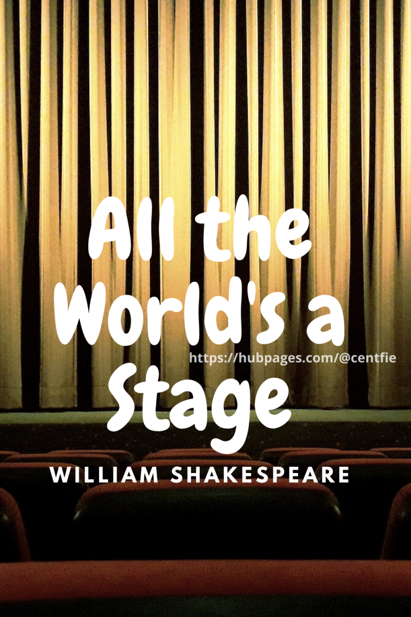"""""""All the World's a Stage"""" by William Shakespeare"""