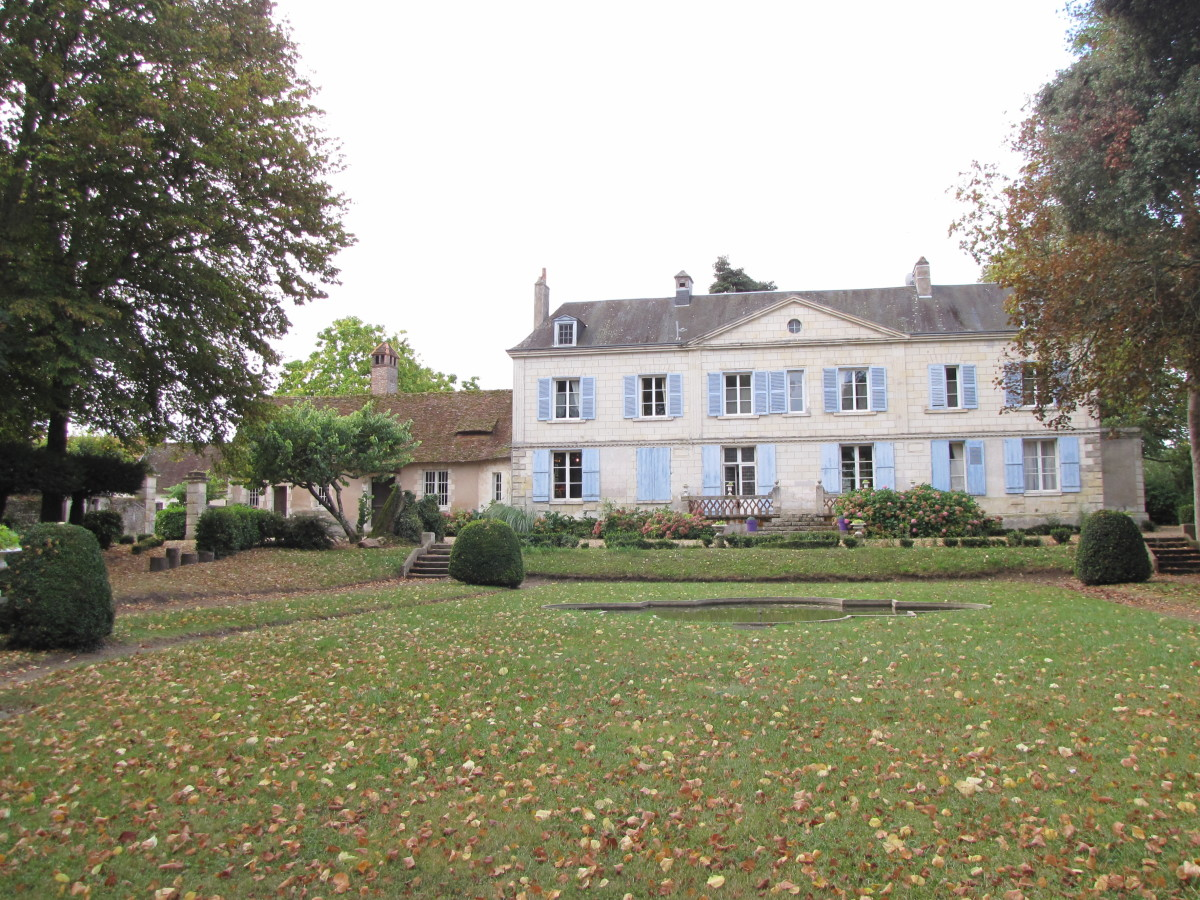 Bed & Breakfast Review:  Chateau de Pintray, Loire Valley, France