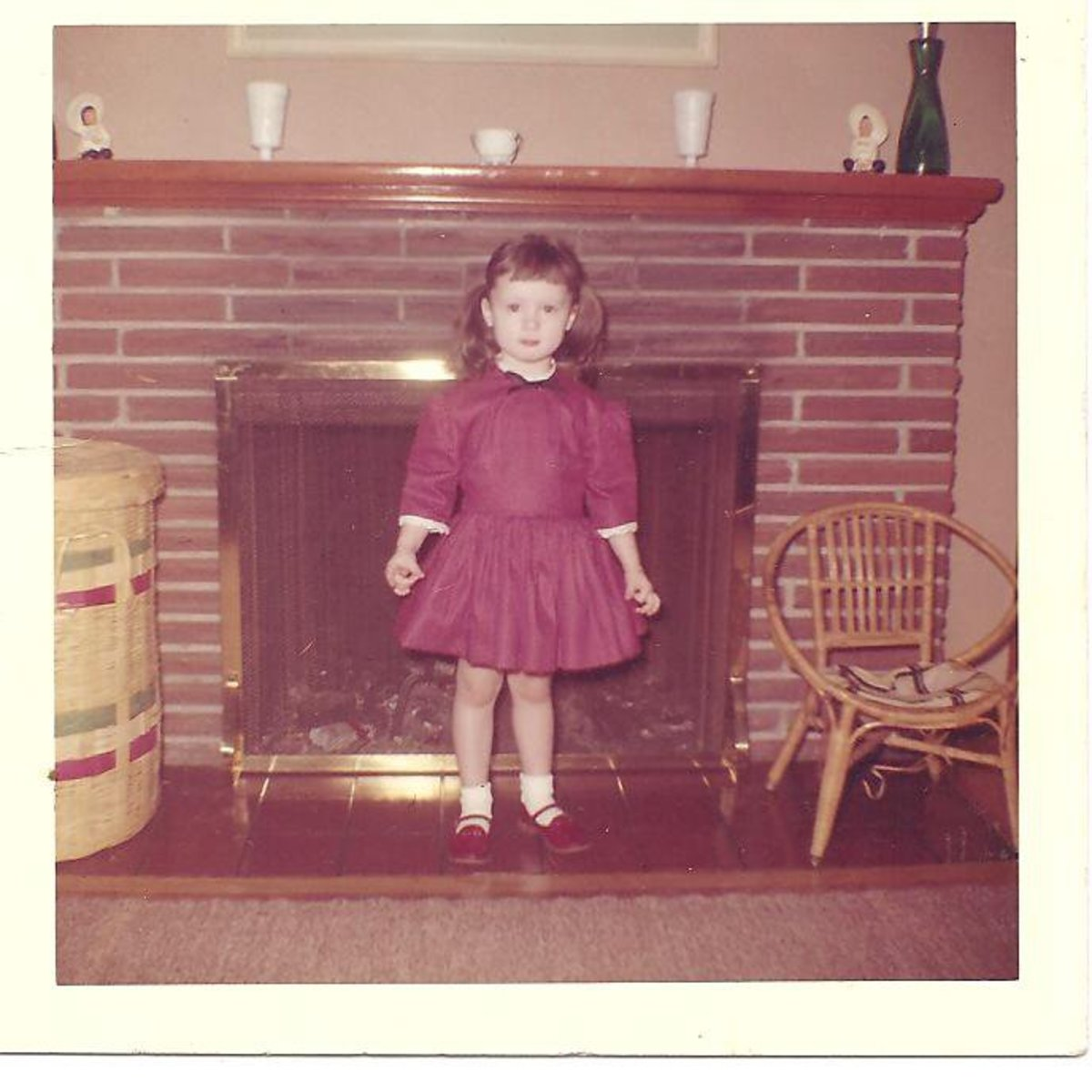 Myself at age three or four.