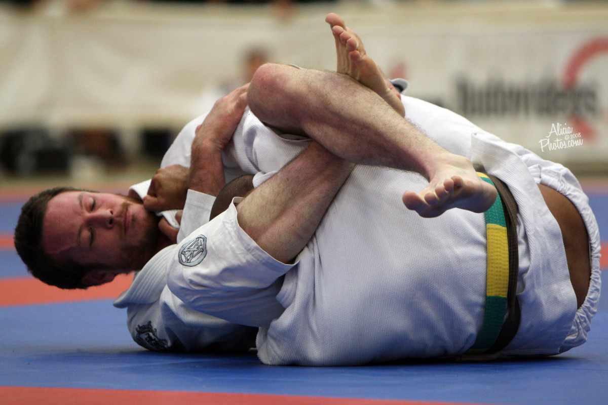 How to Set Up the Triangle Choke from Side Control:  a BJJ Tutorial