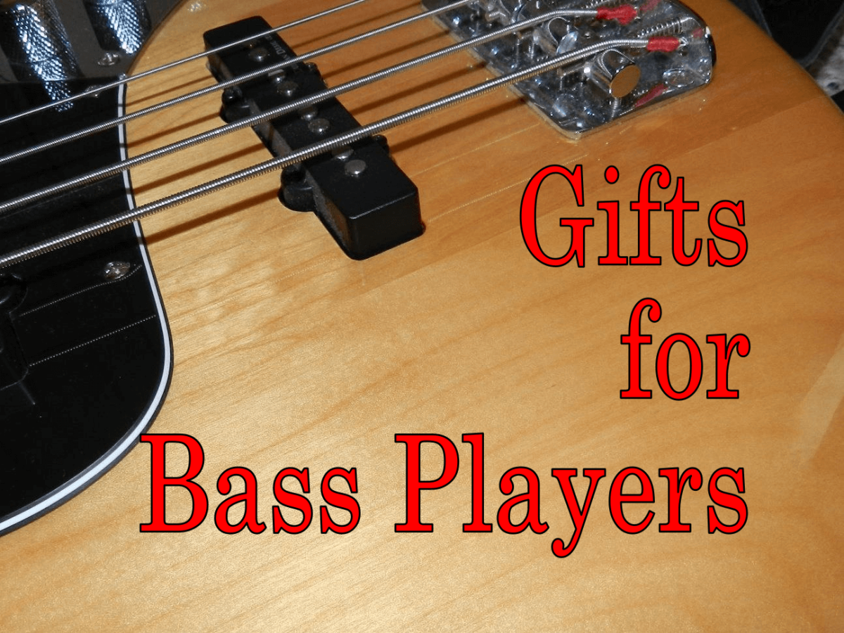 FInd the best gift for the bass player in your life.