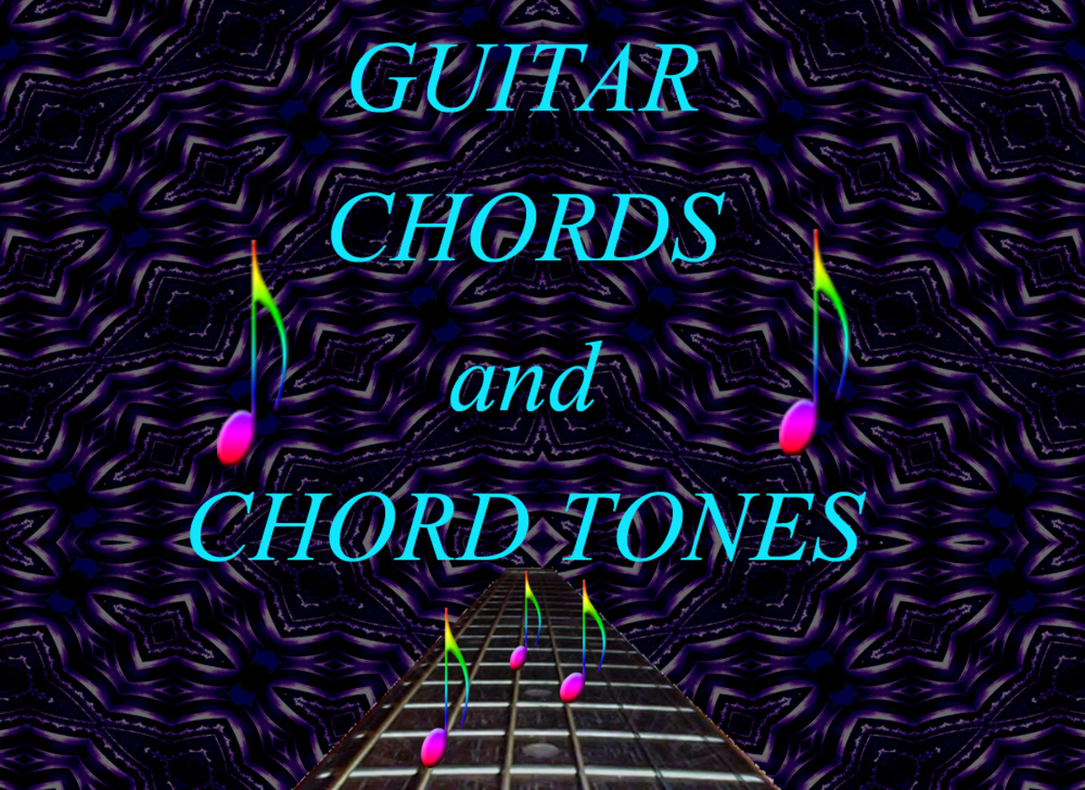 Guitar chords and chord tones