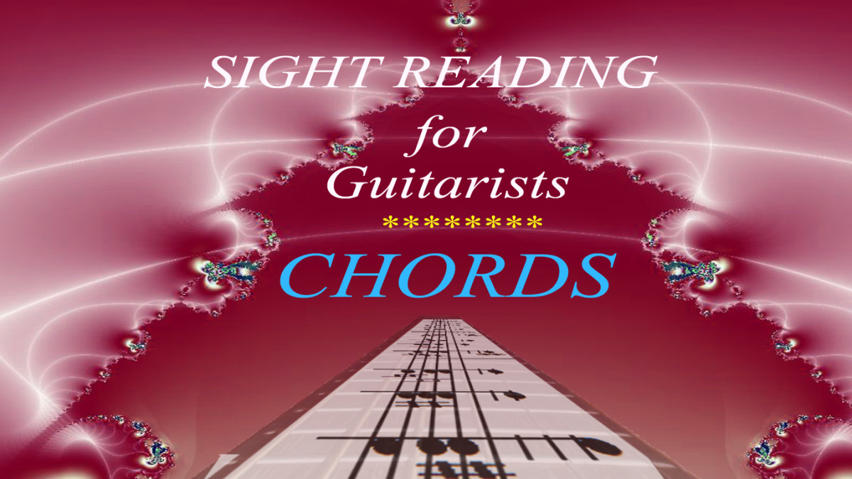 Sight Reading for Guitarists: How to Read Chords in Standard Notation