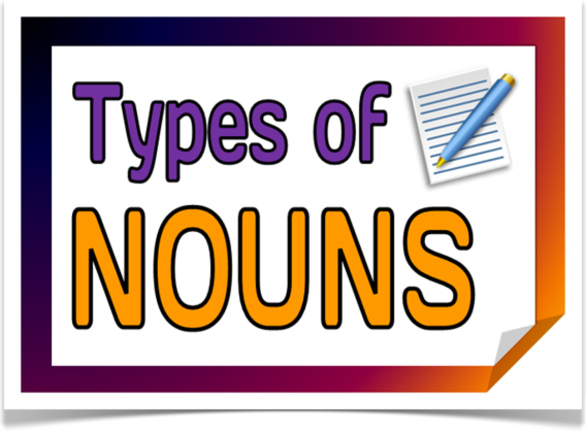 English Grammar: Types of Nouns