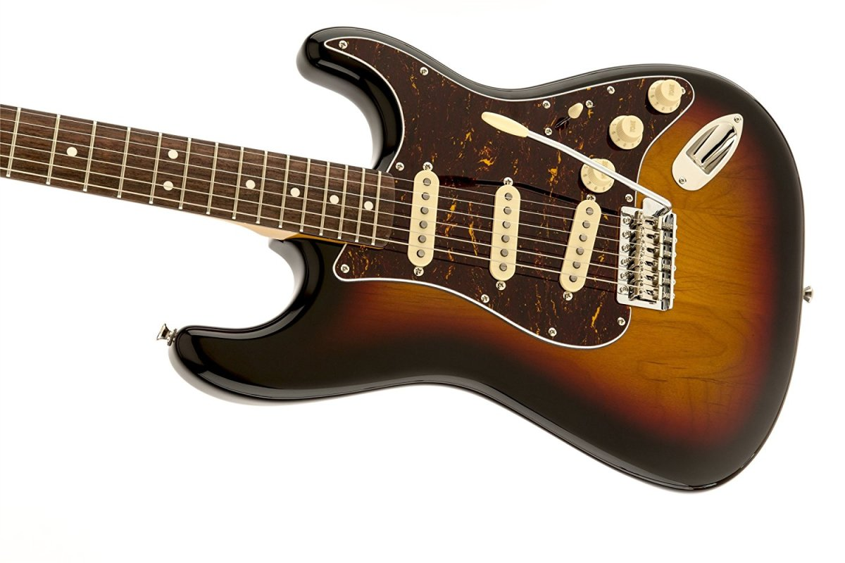 The Squier Classic Vibe Stratocaster is a top budget electric guitar.