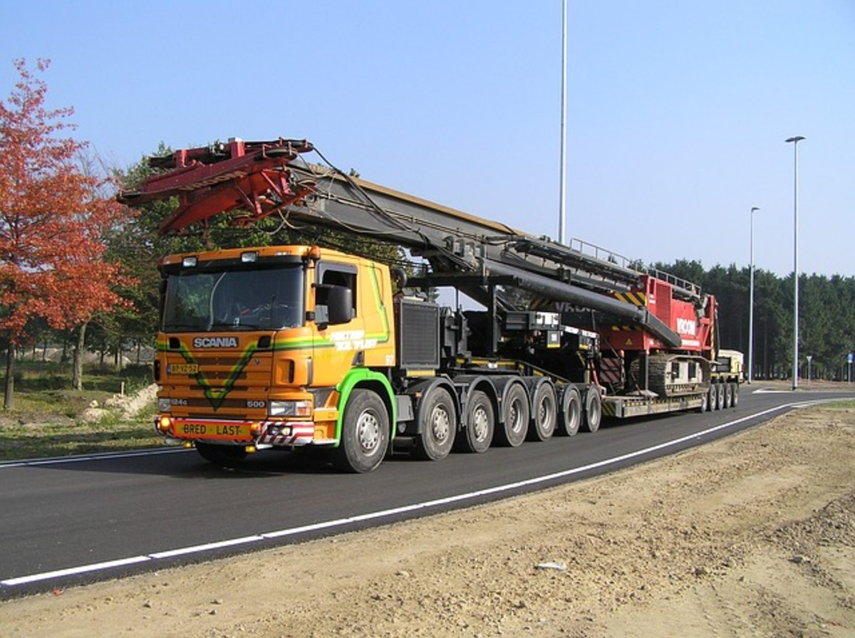 Heavy Transport Truck
