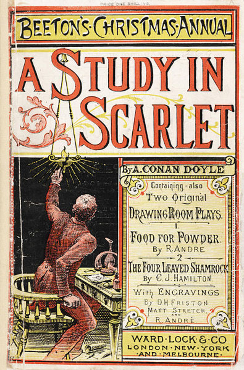 Plot Summary of A Study in Scarlet