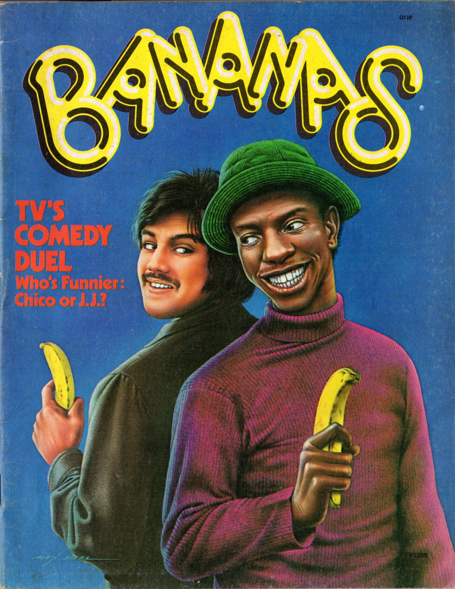 The first issue of Bananas Magazine 1975