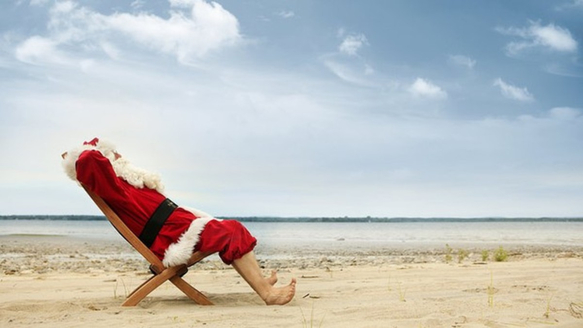 I'm Dreaming of an Off-White Christmas (Haiku for an Aussie Xmas)