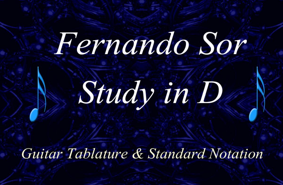 Fernando Sor - Study in D