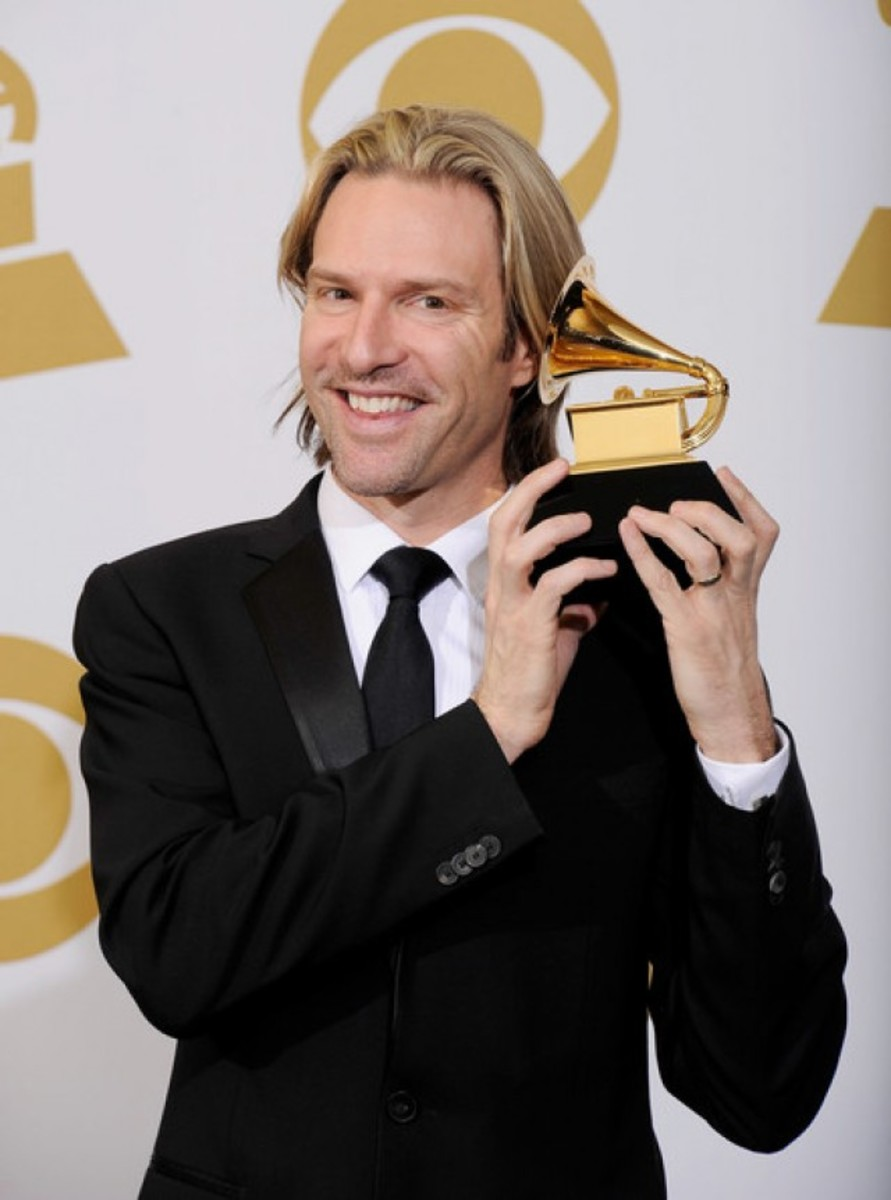Eric Whitacre and his Grammy