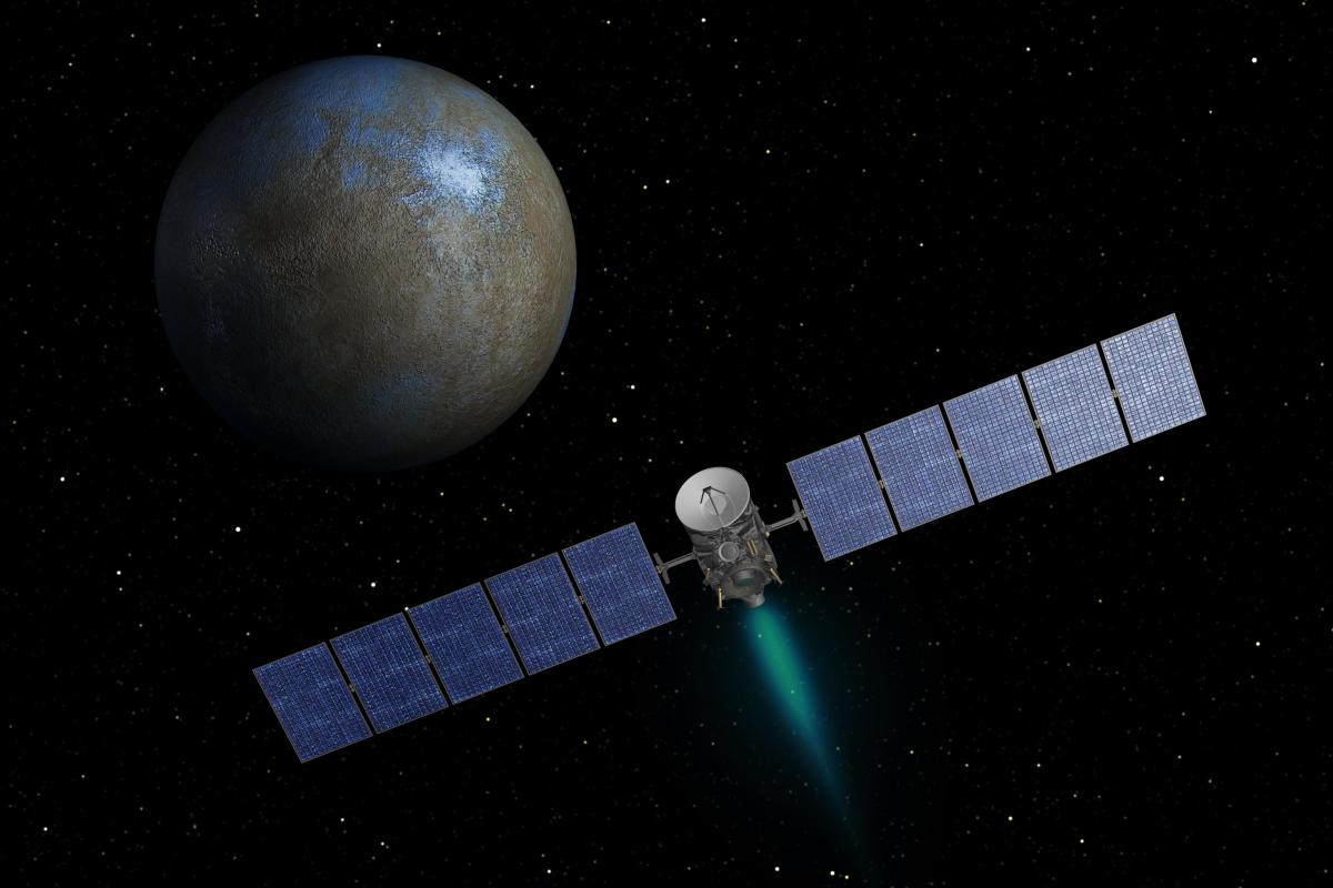 How the Dawn Spacecraft Was Built and Developed to Explore Vesta and Ceres