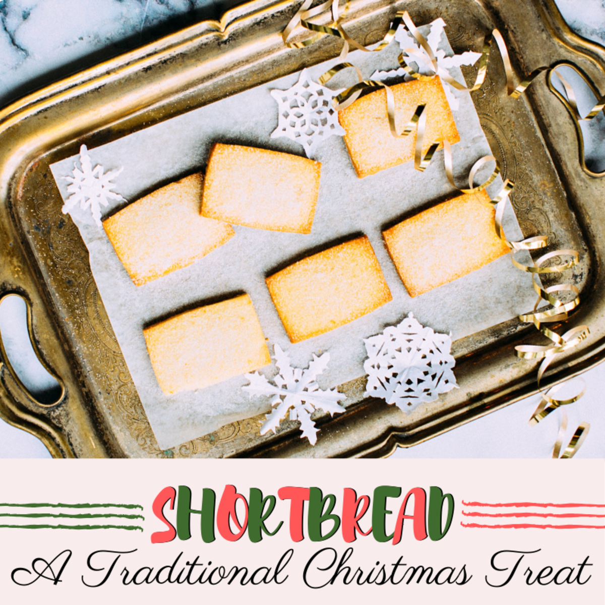 Shortbread is a simple but well-loved treat that has long been associated with Christmastime.