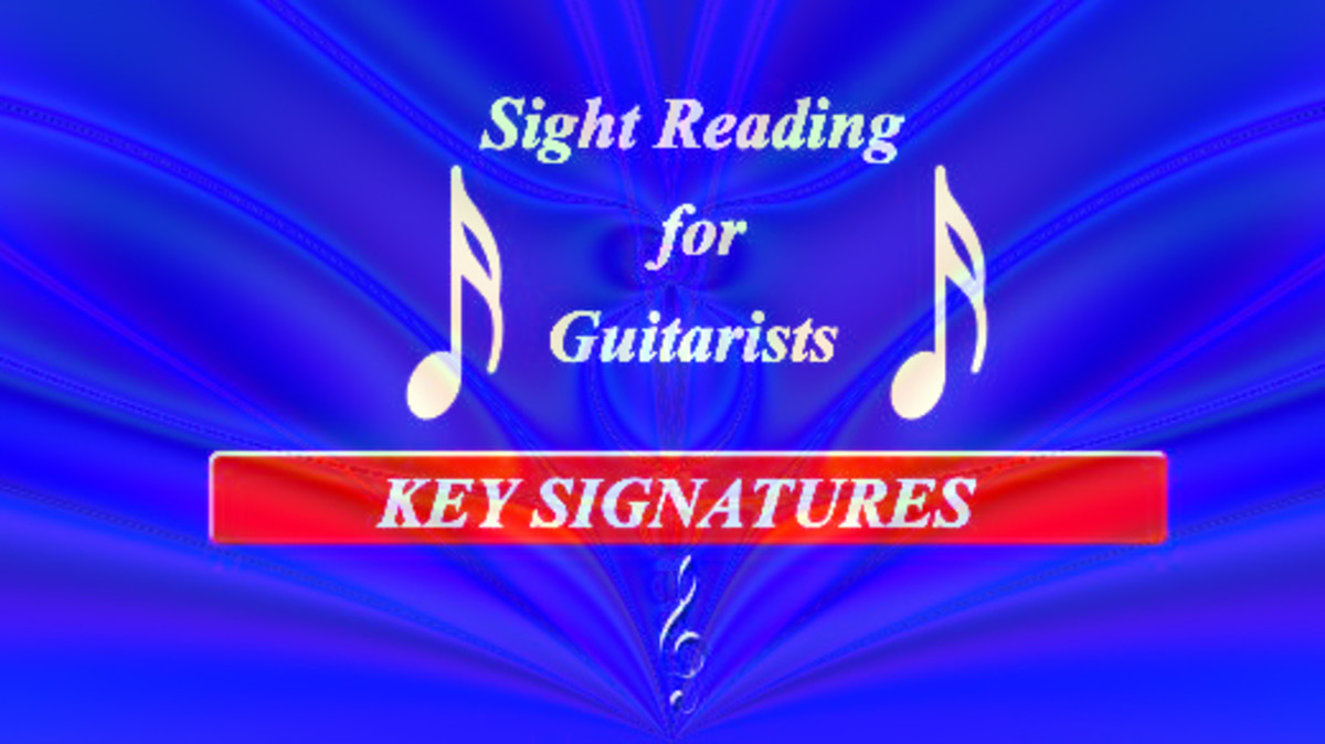Music Reading for Guitarists: Key Signatures