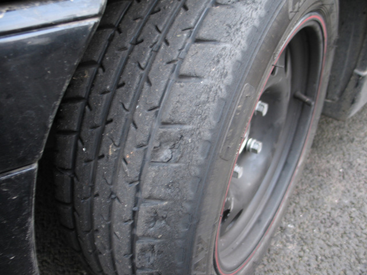 Improper tire inflation pressure can contribute to tread uneven wear.