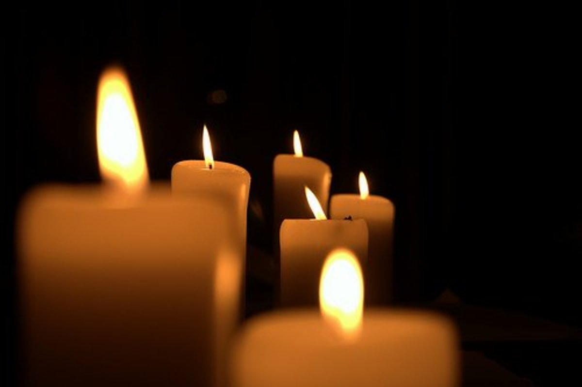 Lighting a candle assists spiritual cleansing