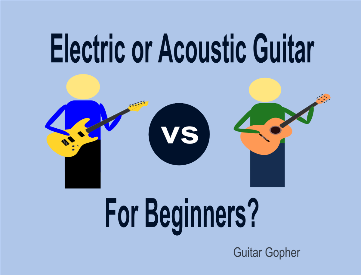 Should beginners learn acoustic or electric guitar first?