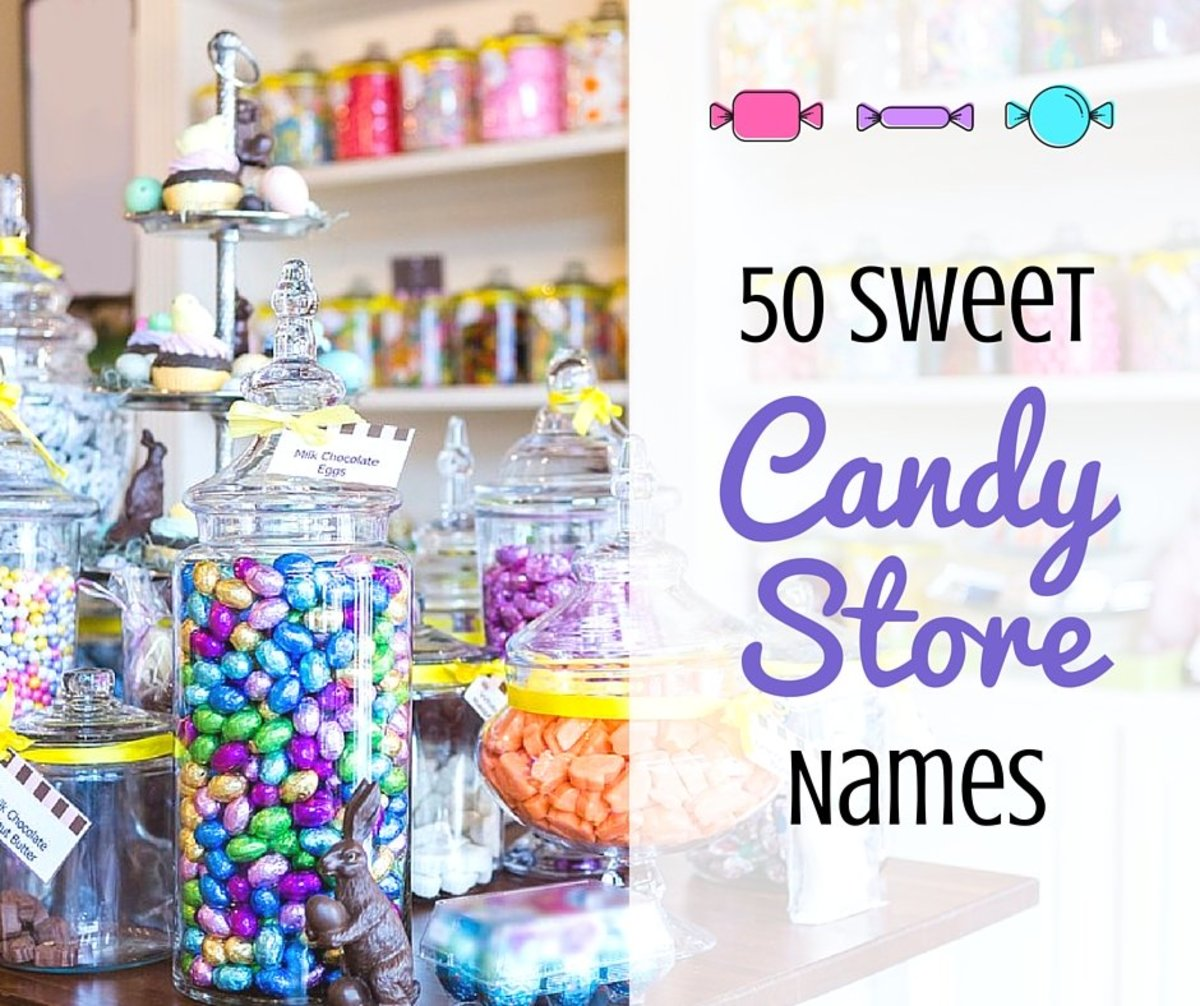 50 Sweet Candy Store Names Toughnickel