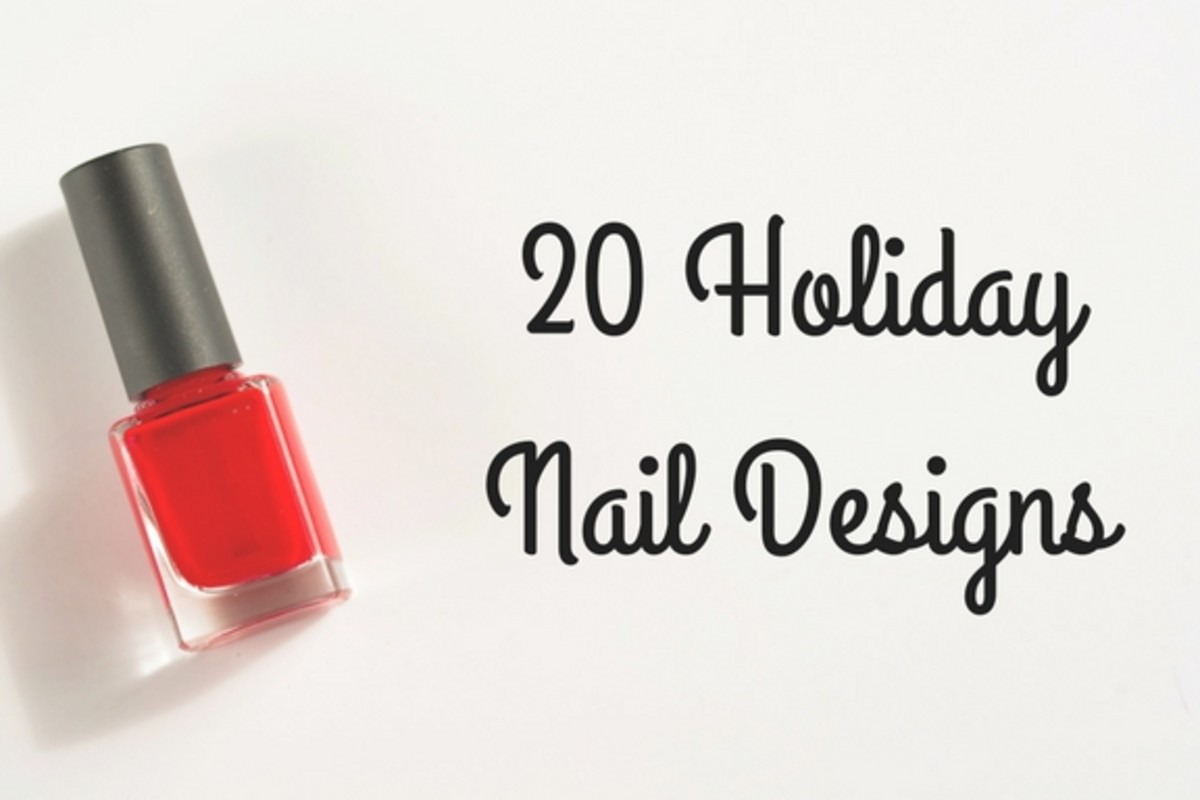 20 Awesome Holiday Nail Designs for Short Nails | Bellatory