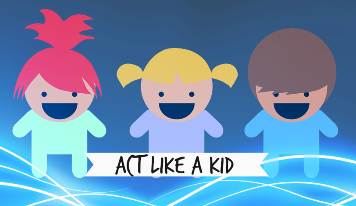 Live Longer by Acting Like a Kid