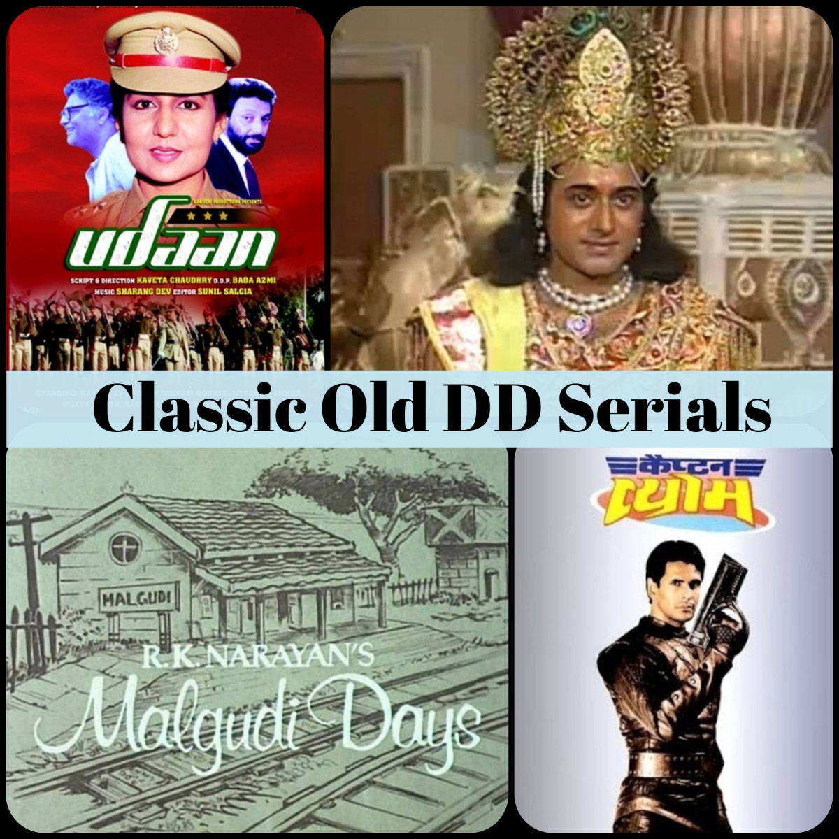 101 Classic Old Doordarshan Serials You Grew up on (1980s - 1990s)