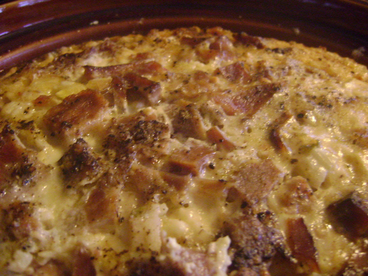 Easy Crock-Pot Egg Bake Recipe