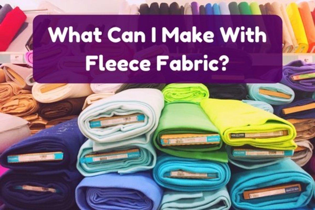 36 Incredible Fleece Craft Ideas