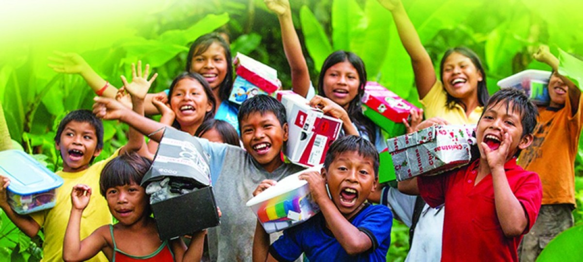 How to Help a Child at Christmas? Stuff a Shoebox!