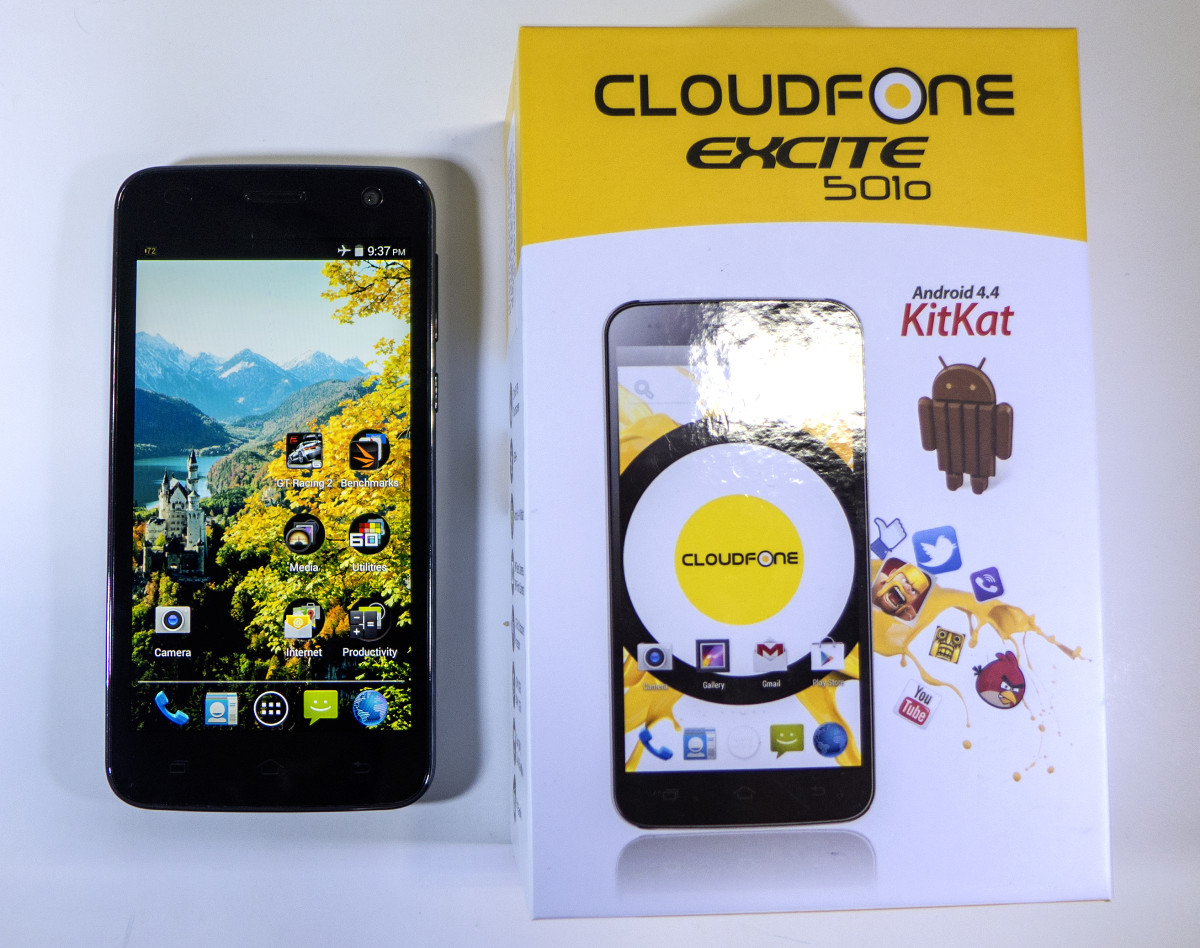 Cloudfone Excite 501o Review