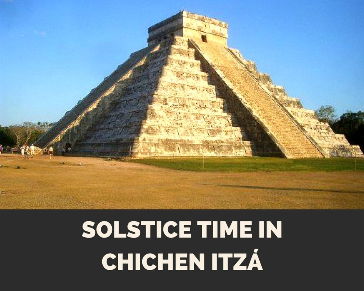 Solstice Time at Chichen Itza