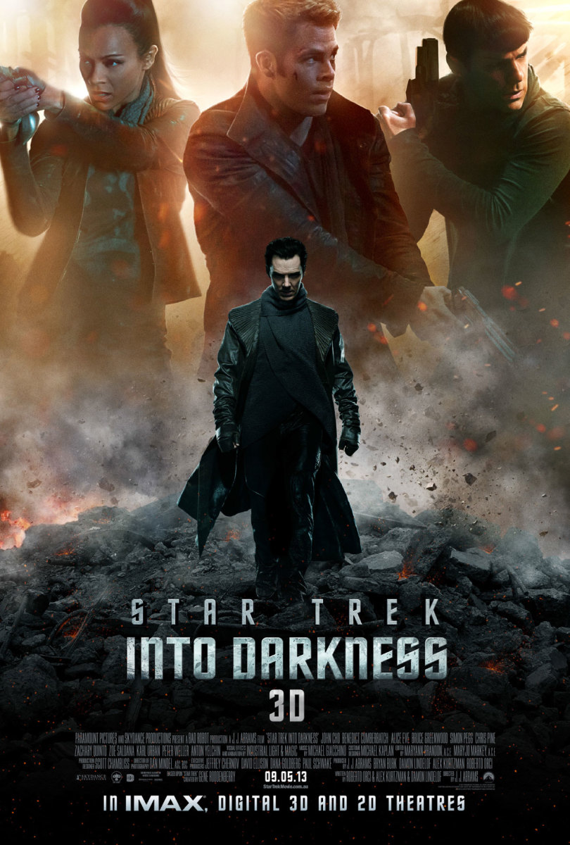 """Poster for """"Star Trek Into Darkness"""""""