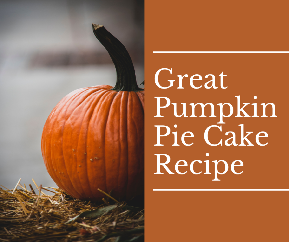 This great pumpkin pie cake recipe is great for all guests.