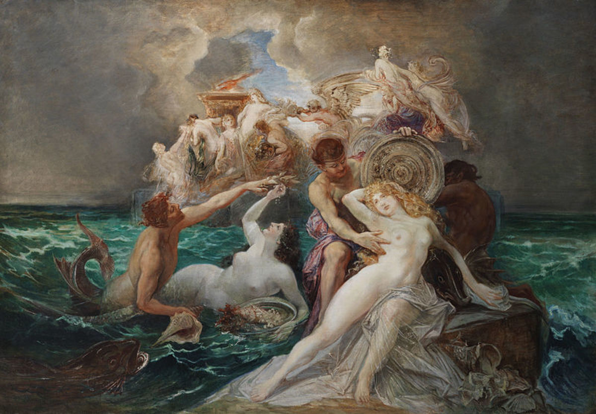 The Nereid Thetis in Greek Mythology