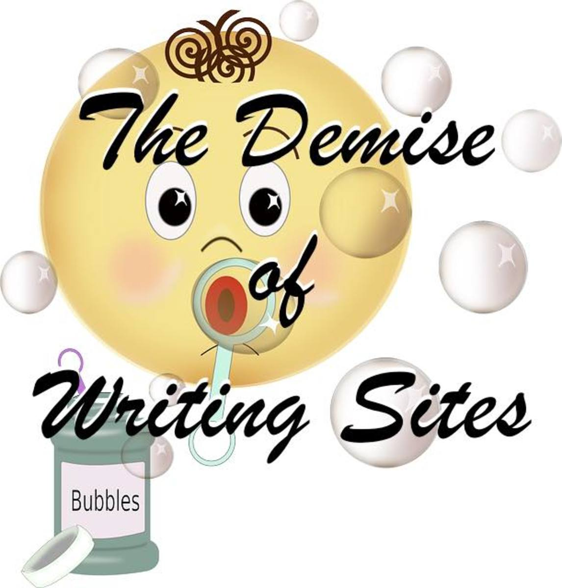 The Demise of Writing Sites: Bubblews, Persona Paper and Niume