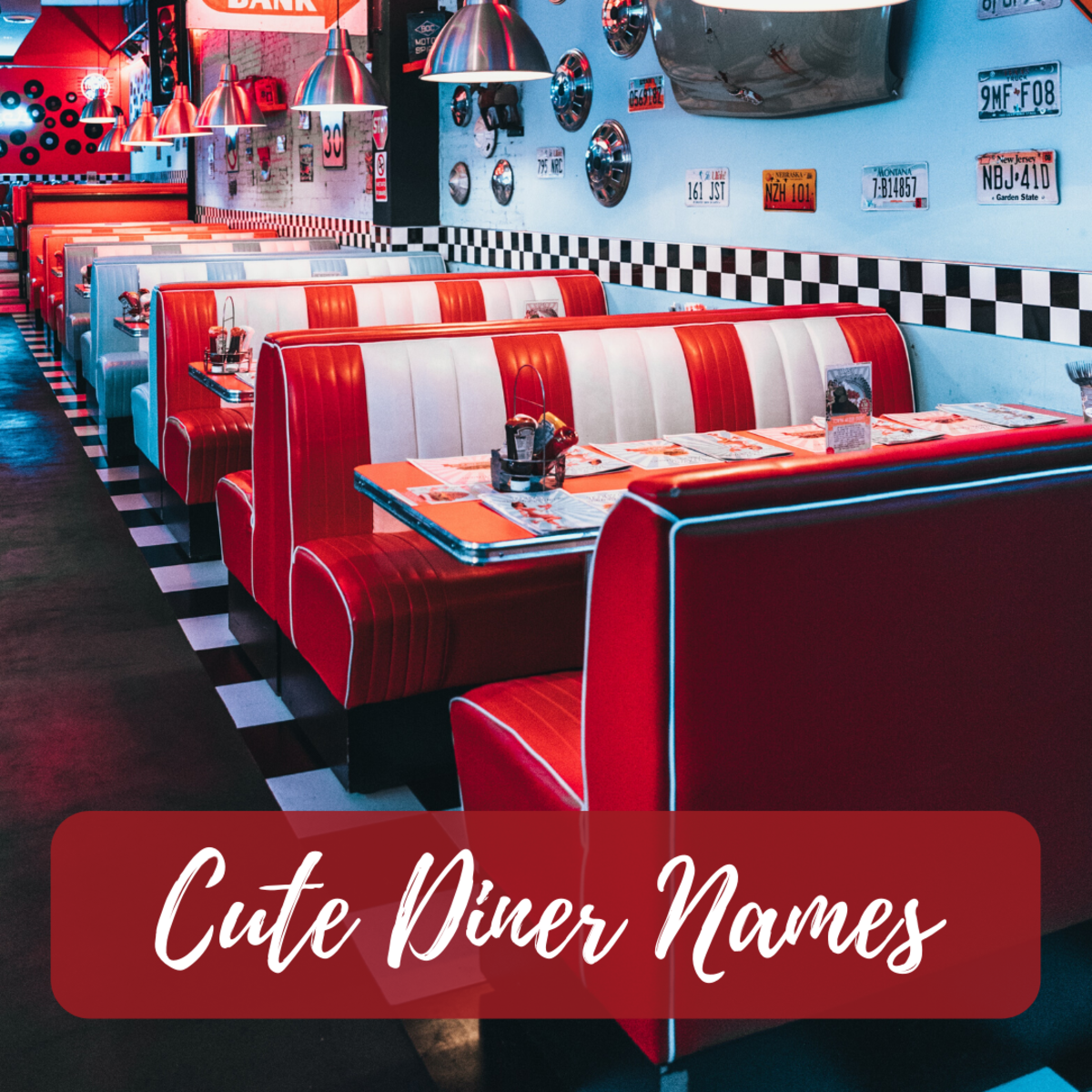 Having a clever or catchy diner name will help you stand out from your competition.