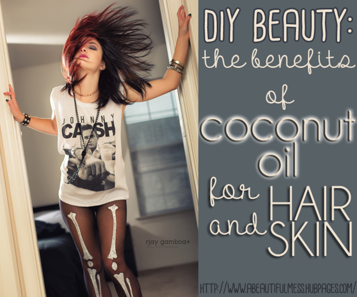 DIY Beauty: The Benefits of Coconut Oil for Hair and Skin