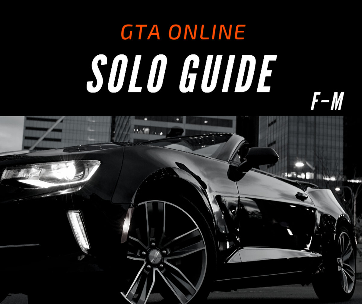"This guide includes ""GTA Online"" solo missions F–M."