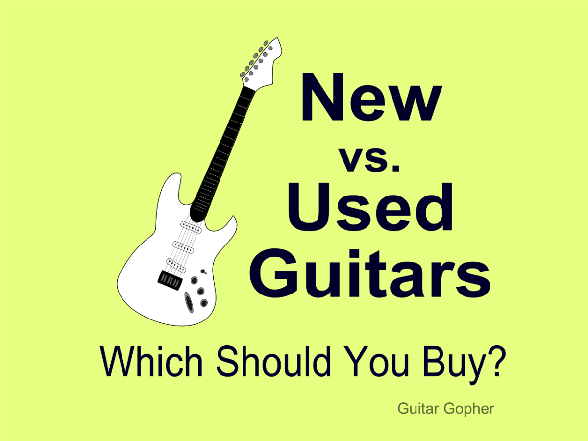 Should you choose a new or used guitar as your next instrument?